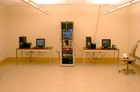 Server room in Kemeny Hall, September 11, 2006