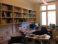 A well-used faculty office