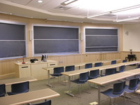 First floor classrooms