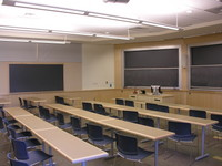 First floor classroom