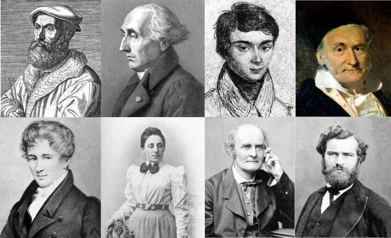 Famous Algebraists