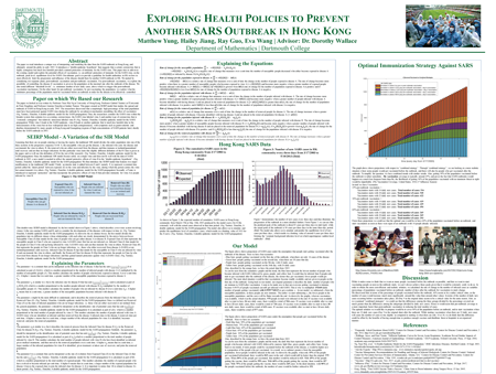 View our gallery of <a href='activities/undergrad/poster-session/2018/'>undergraduate research posters</a> presented at this year's <a href='activities/undergrad/poster-session/'>undergraduate poster session</a>. Matthew Yung &rsquo;18, Hailey Jiang &rsquo;19, Ray Guo &rsquo;19, and Eva Wang &rsquo;19 authored the poster shown here, which was the first place winner in applied mathematics.