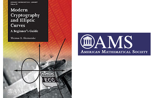 <a href='http://bookstore.ams.org/stml-83'><strong>Modern Cryptography and Elliptic Curves: A Beginner's Guide</strong></a> by Professor Thomas Shemanske will soon be published by the <a href='http://www.ams.org/home/page'>American Mathematical Society.</a>